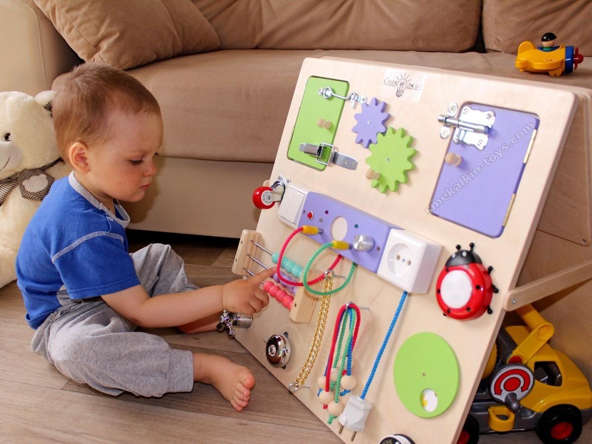 Развивающий центр для ребёнка своими руками 33