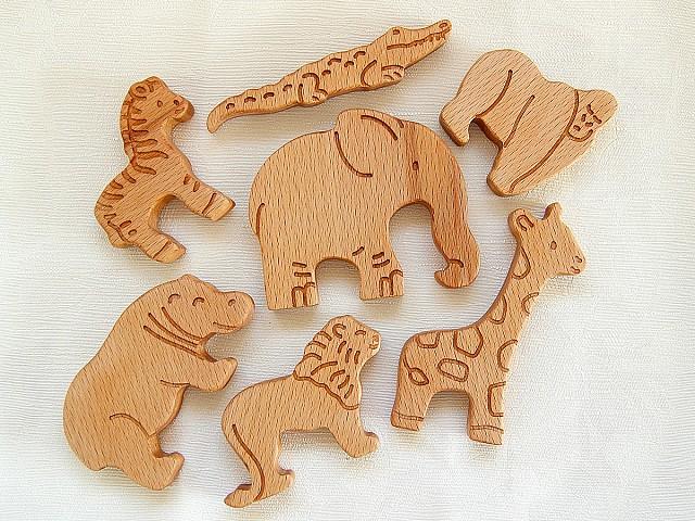 фигурки животных для детей, животные африки игрушки, фигурки из дерева купить