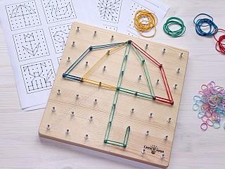 геометрик купить, доска с резиночками