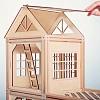Деревянный магнитный конструктор, деревянный конструктор домик, деревянный конструктор для детей