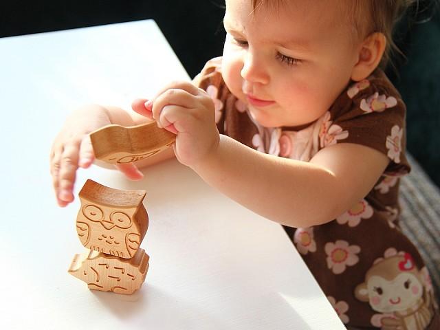 игрушка пазл из дерева