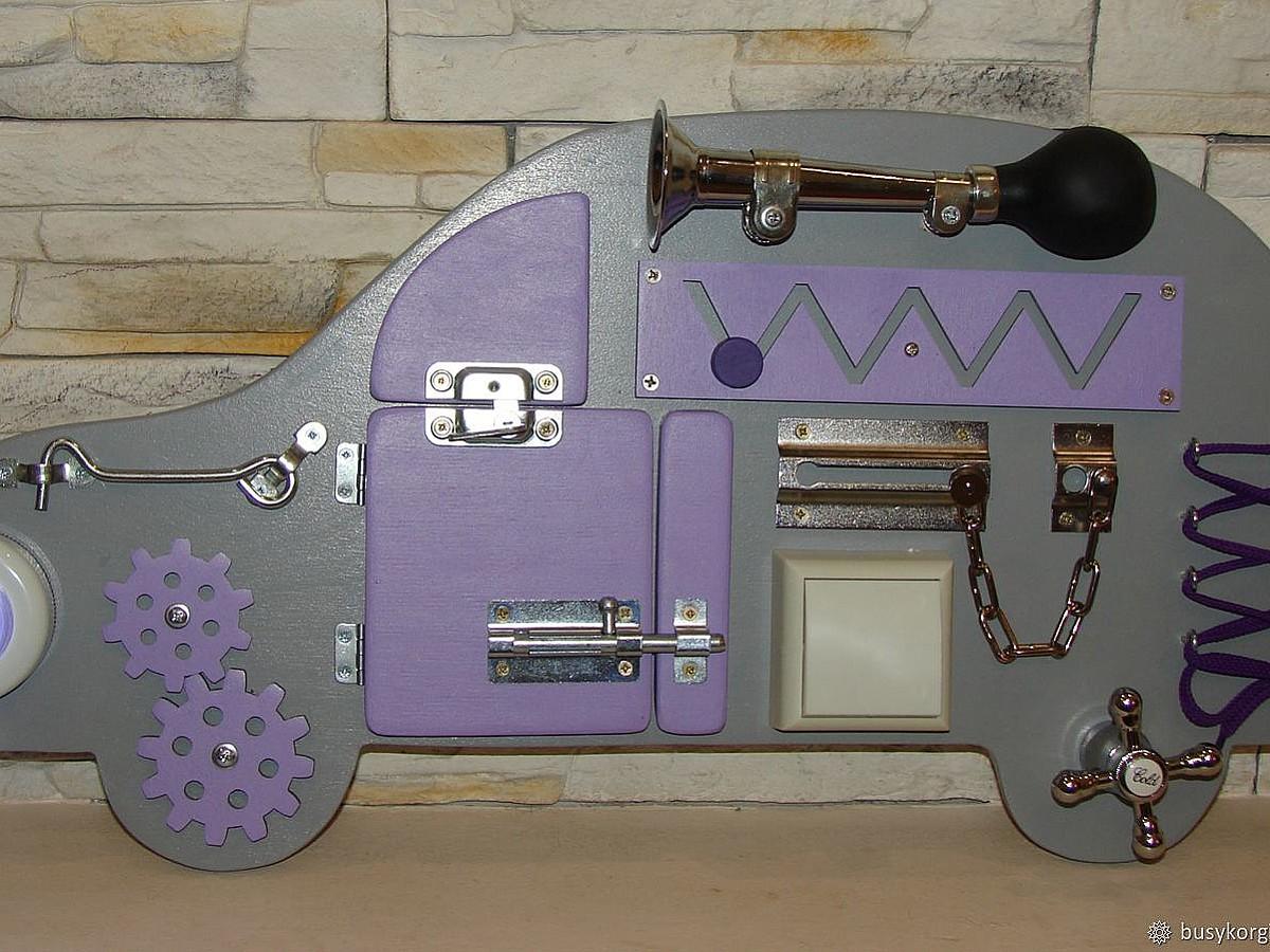 идеи для бизиборда в форме машинки