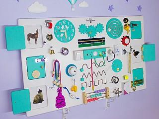 бизиборд на заказ, дверки для детей