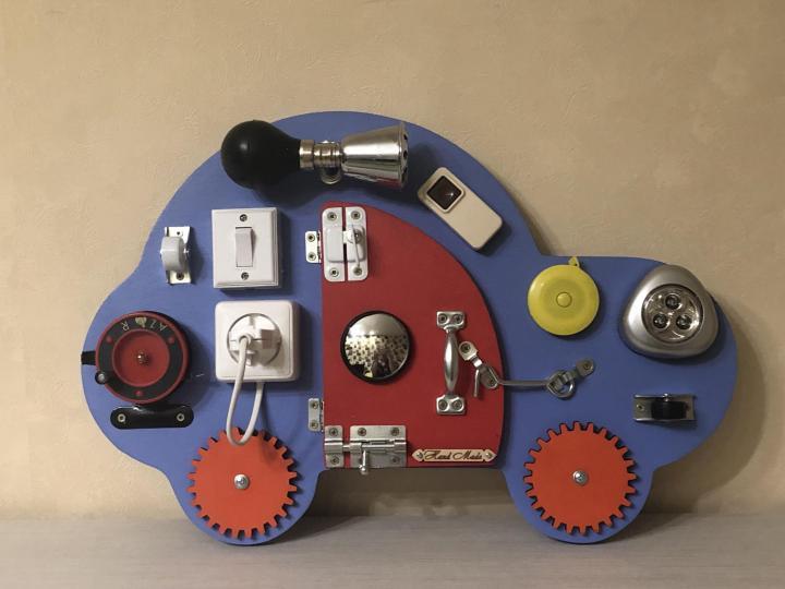 идеи для бизиборда машина