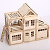 Деревянный конструктор на магнитах, деревянный конструктор домик купить, деревянный конструктор для детей
