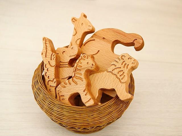 деревянные игрушки животные, игрушки фигурки животных
