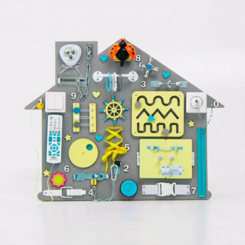 идеи для бизиборда домик