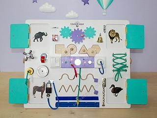 доска с замочками и кнопочками, магазин бизибордов