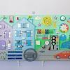 Купить бизиборд, развивающая доска бизиборд для детей, смекалкин