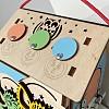 дорожный бизиборд, маленький бизиборд домик, бизидомик в подарок