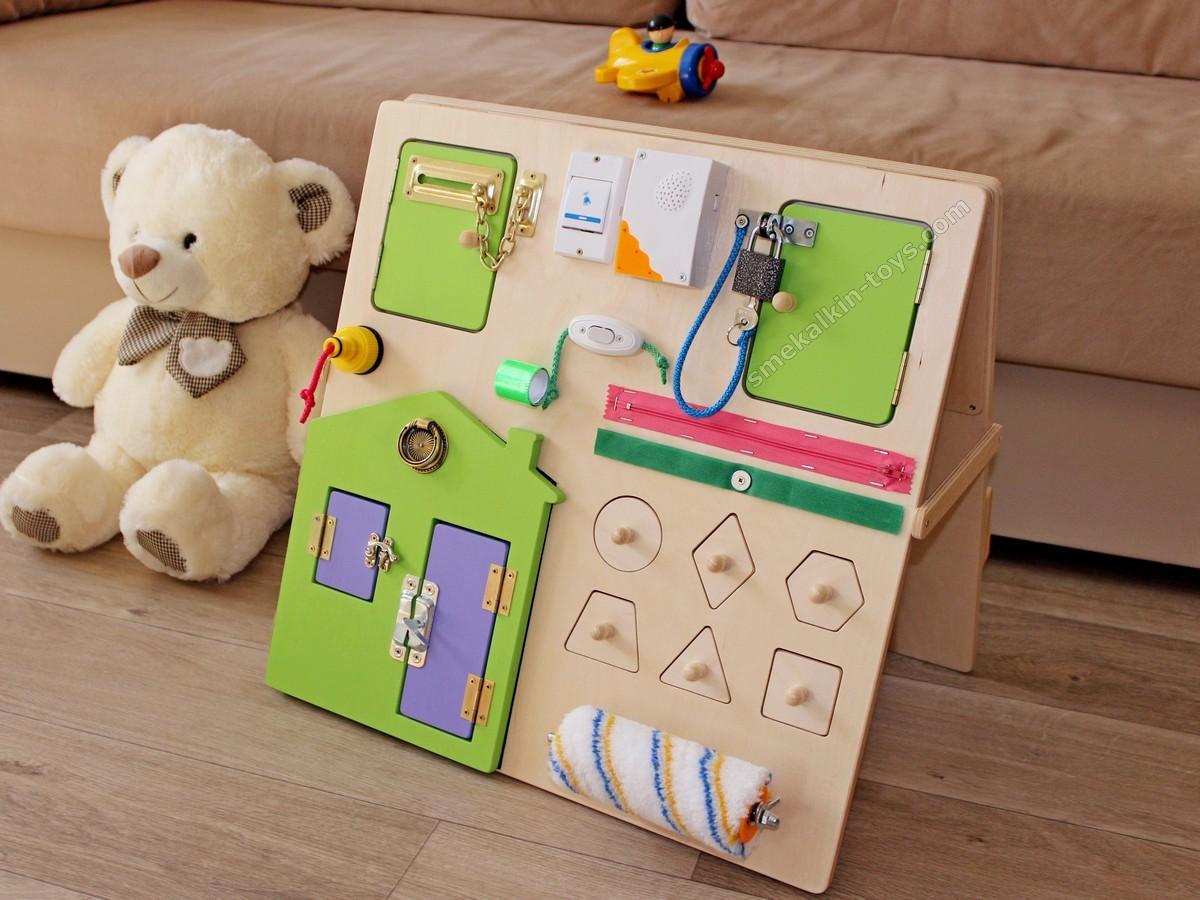 Развивающие доски бизиборд (busy board) - что это, для чего и каким должен быть?