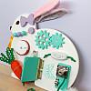 бизиборд кролик зайчик заяц для мальчика