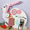 бизиборд кролик зайчик заяц, мастерская смекалкин